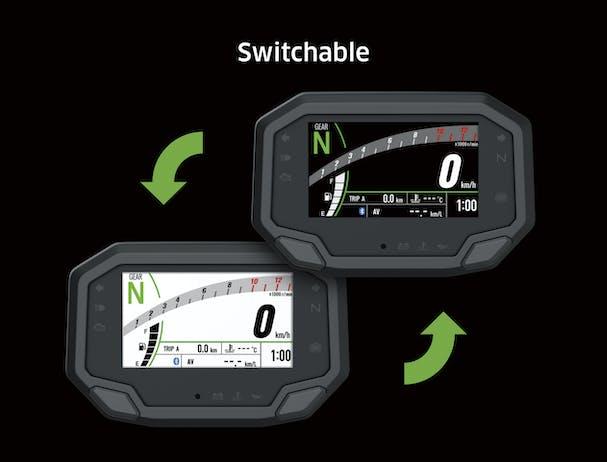 Kawasaki Z650L SE speedometer