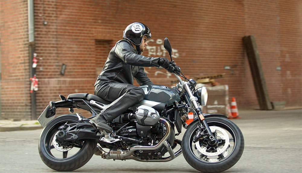 BMW R nineT Pure on the road
