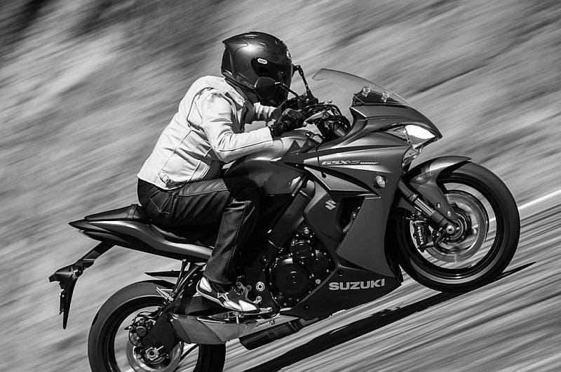 SUZUKI GSX-S1000F in metallic matte black colour