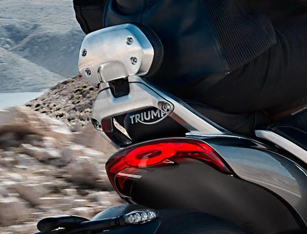 Triumph Rocket 3 GT backrest