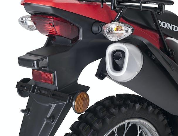 Honda XR190CT AG-XR rear rack