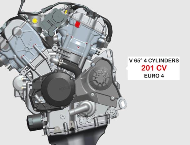 Aprilia RSV4 RR engine
