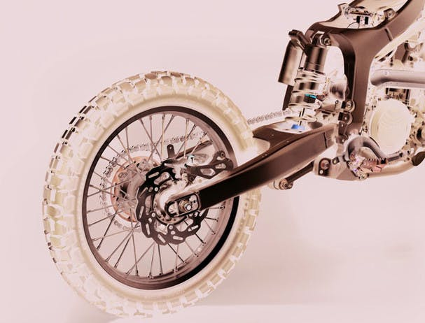 Yamaha ER250R suspension