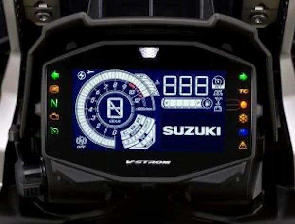 Suzuki V-Strom 1050 LCD screen