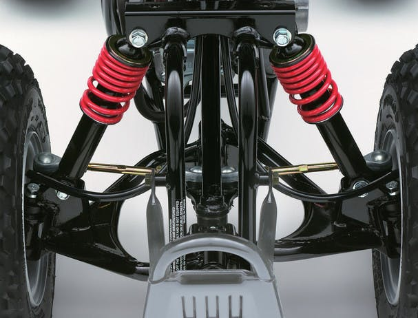 SUZUKI QUADSPORT Z50 front suspension