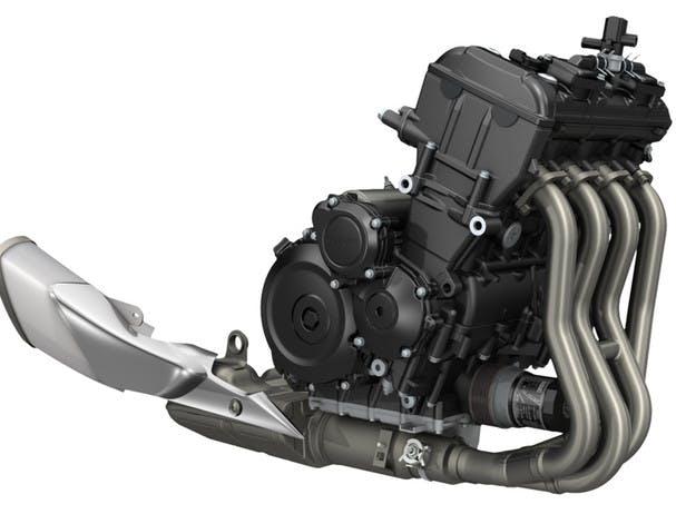 SUZUKI GSX-S1000F engine