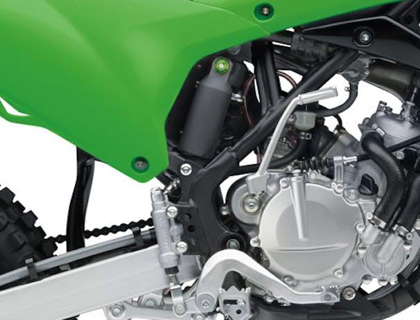 KAWASAKI KX85 rear suspension