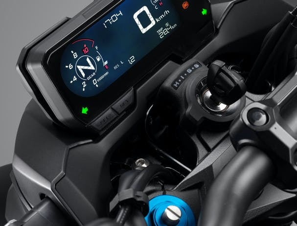 Honda CB500F LCD display