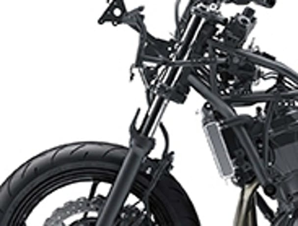 Kawasaki Ninja 650L SE front suspension