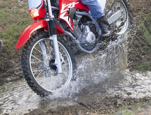 Honda CRF250F wheels