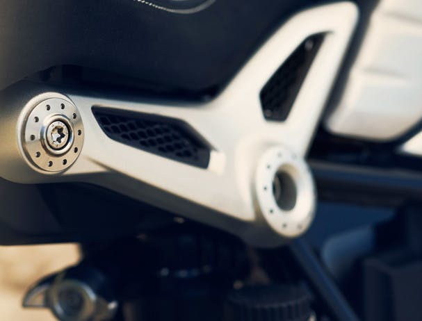 BMW R NINET SPEZIAL seat supports