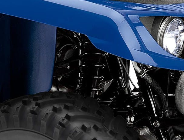 Yamaha Grizzly 350 2WD suspension