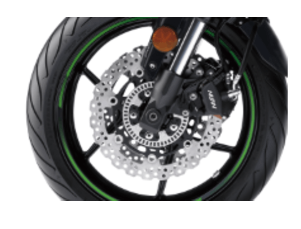 KAWASAKI VERSYS 650L front brake