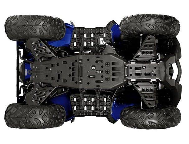 Yamaha Grizzly 700 underbody skid plates