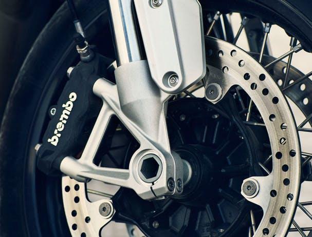 BMW R NINET SPEZIAL ABS breaking system