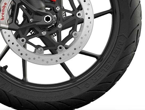 Tiger 900 GT wheels