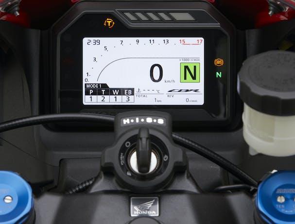 Honda CBR600RR speedometer
