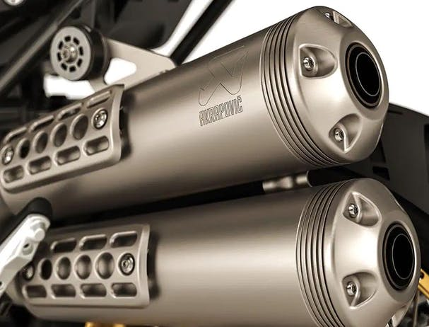 BMW R nineT Urban G/S Edition 40 Years GS double exhaust
