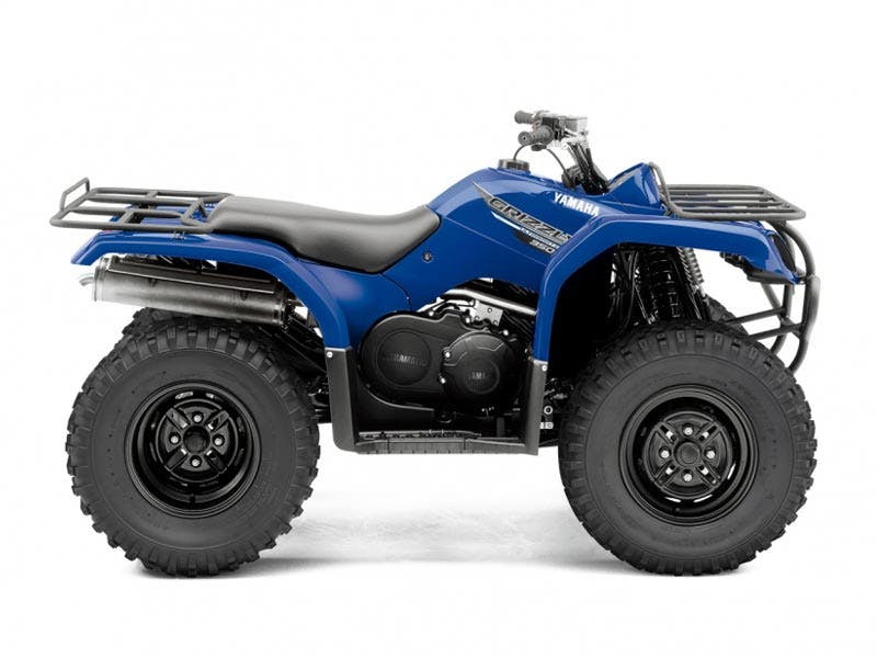 Yamaha Grizzly 350 2WD in Steel Blue