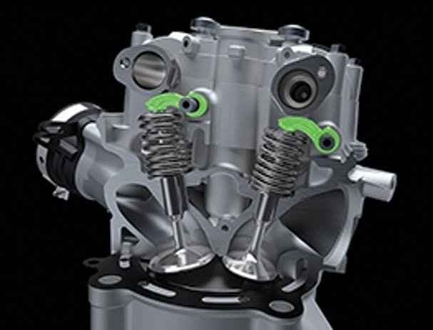 KX450 engine