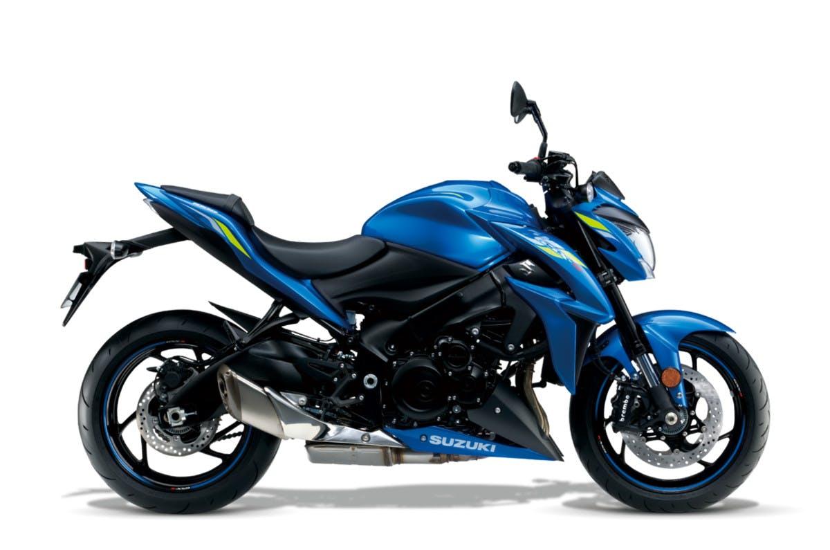 SUZUKI GSX-S1000 in metallic triton blue colour