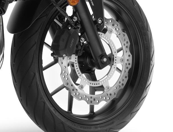 Honda CB500F front wheel