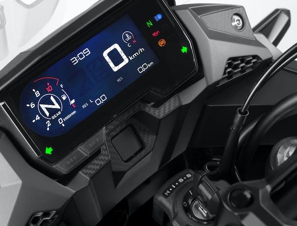 Honda CB500X LCD screen