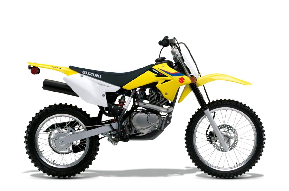 SUZUKI DR-Z125L in champion yellow no.2 colour