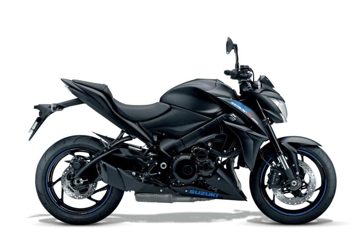 SUZUKI GSX-S1000 in metallic matte black colour