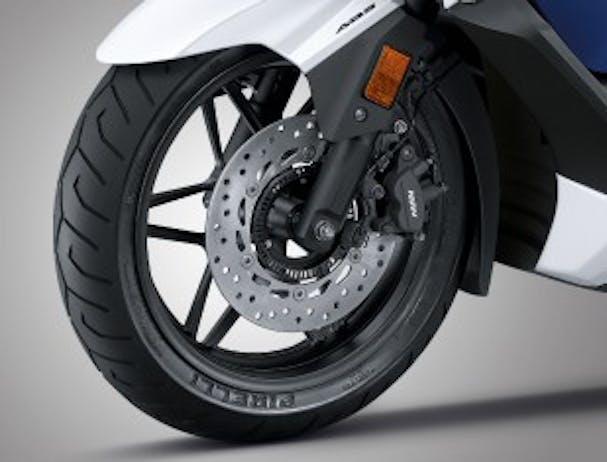 Honda Forza 300 front wheel