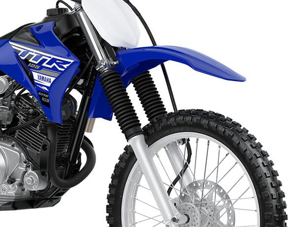 Yamaha TT-R125LWE suspension