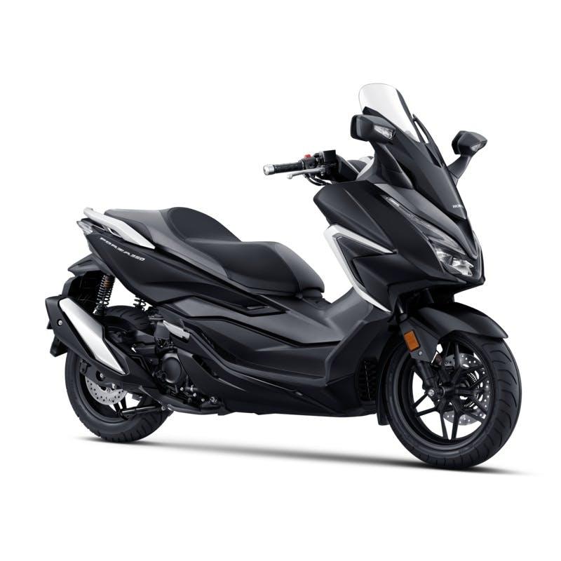 Honda Forza 350 in black colour