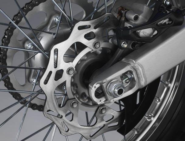 Yamaha YZ125 disc brakes