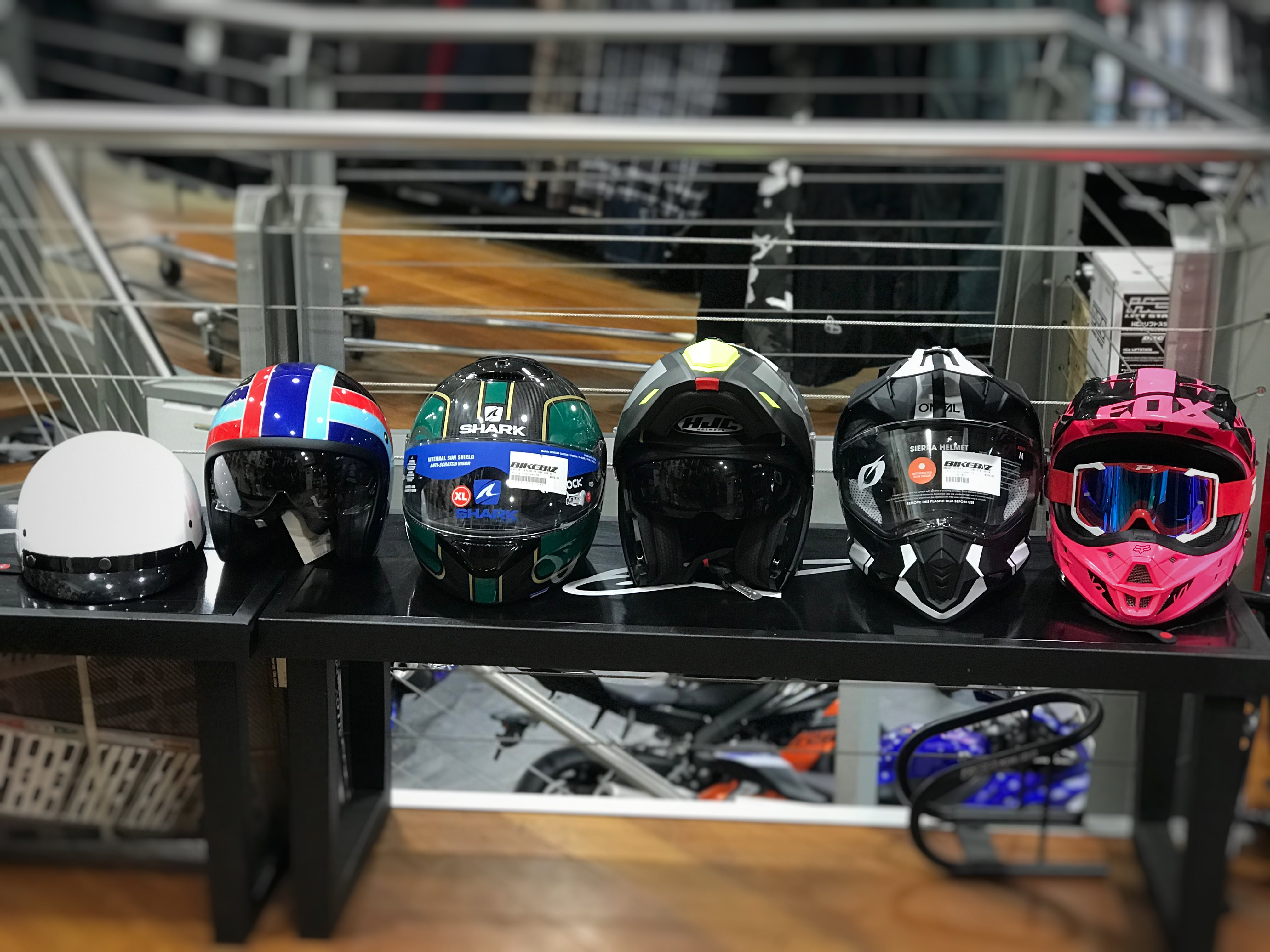 What Are The Different Types Of Motorcycle Helmets