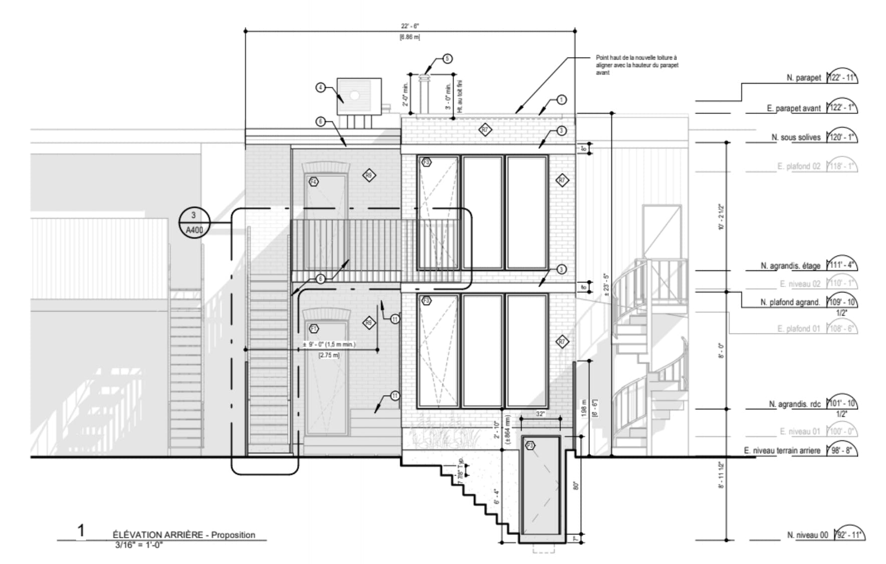 Home extension project plans