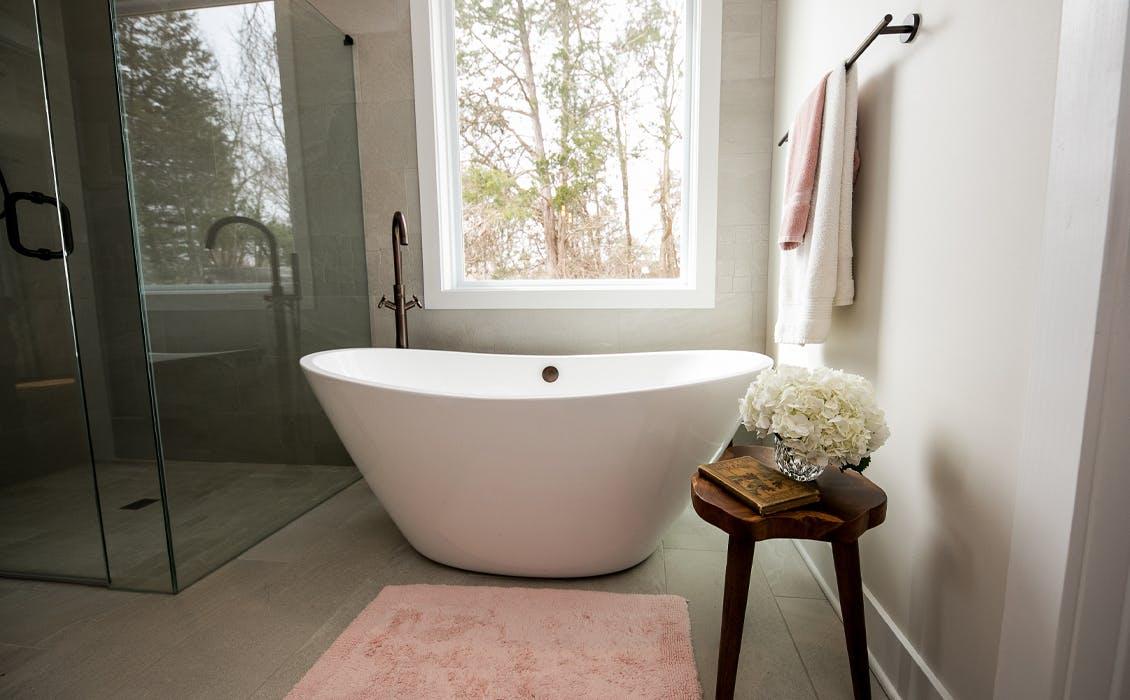 Salle de bain inspirée du spa