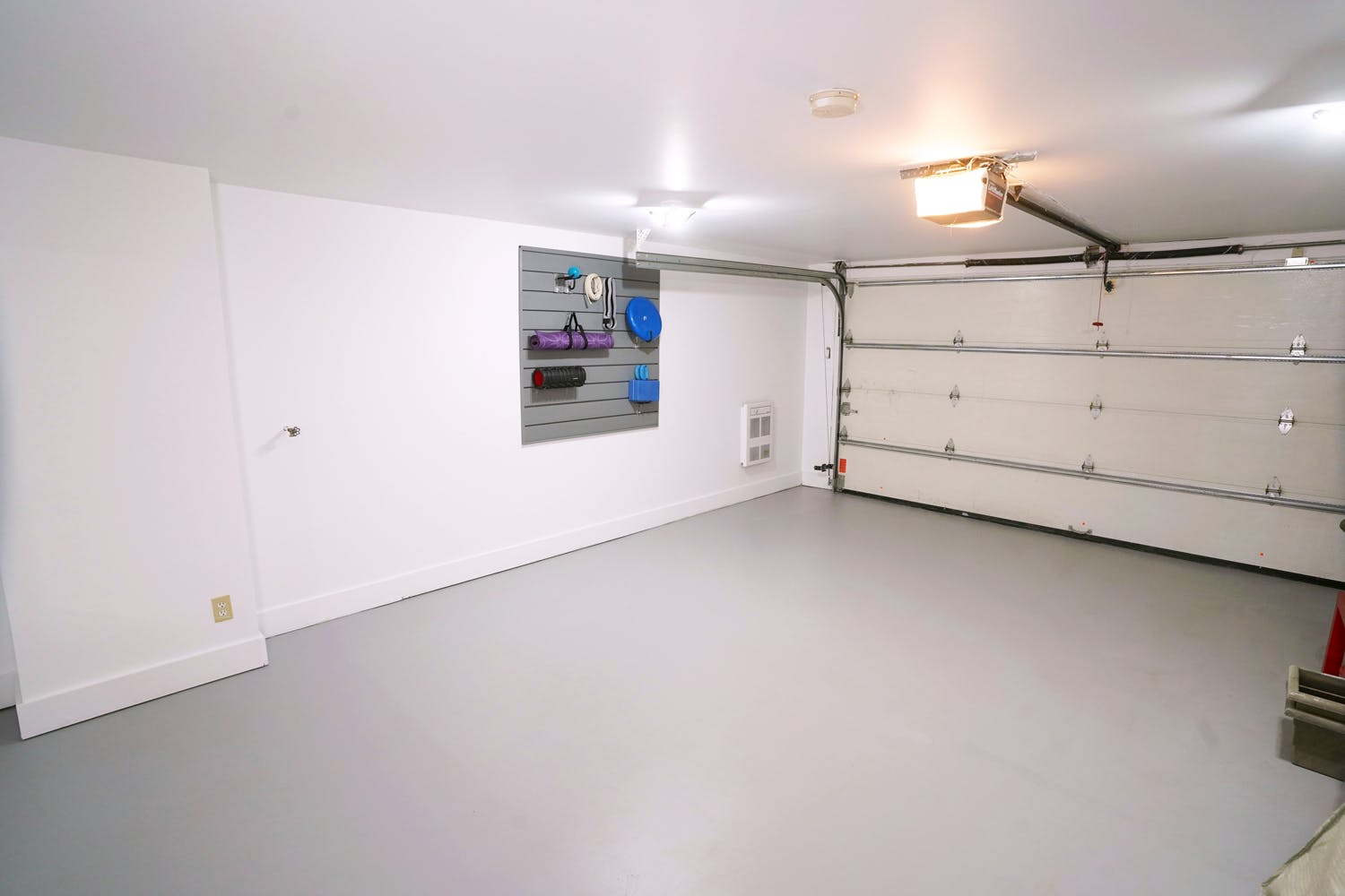 Renovated garage