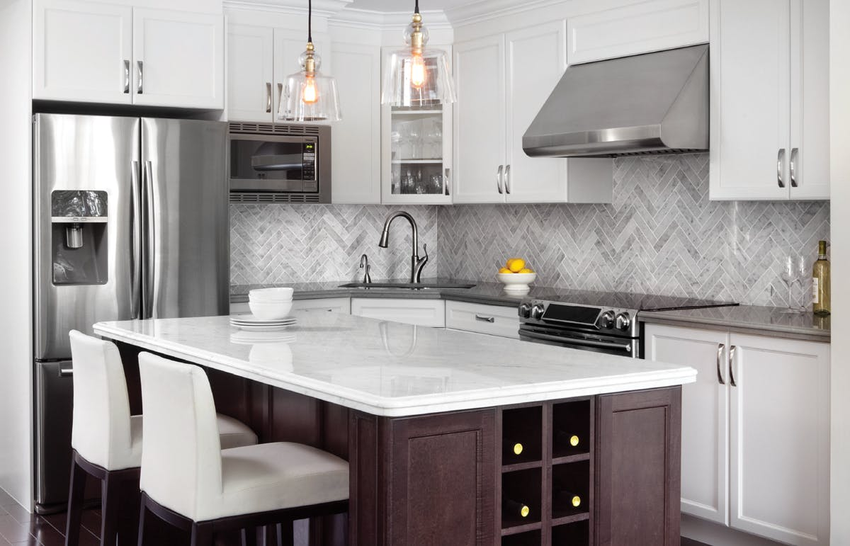 Traditional kitchen finishes design