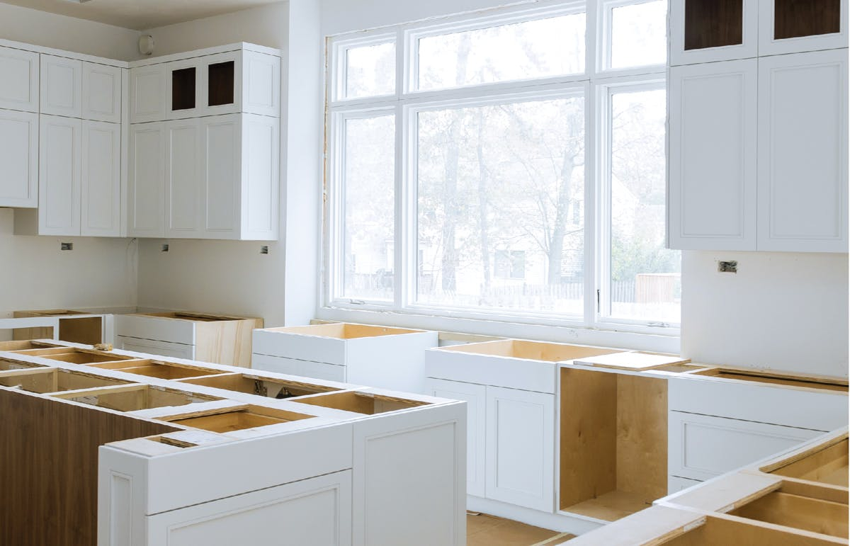 Kitchen cabinetry boxes