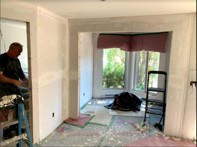 Adding a new partition wall