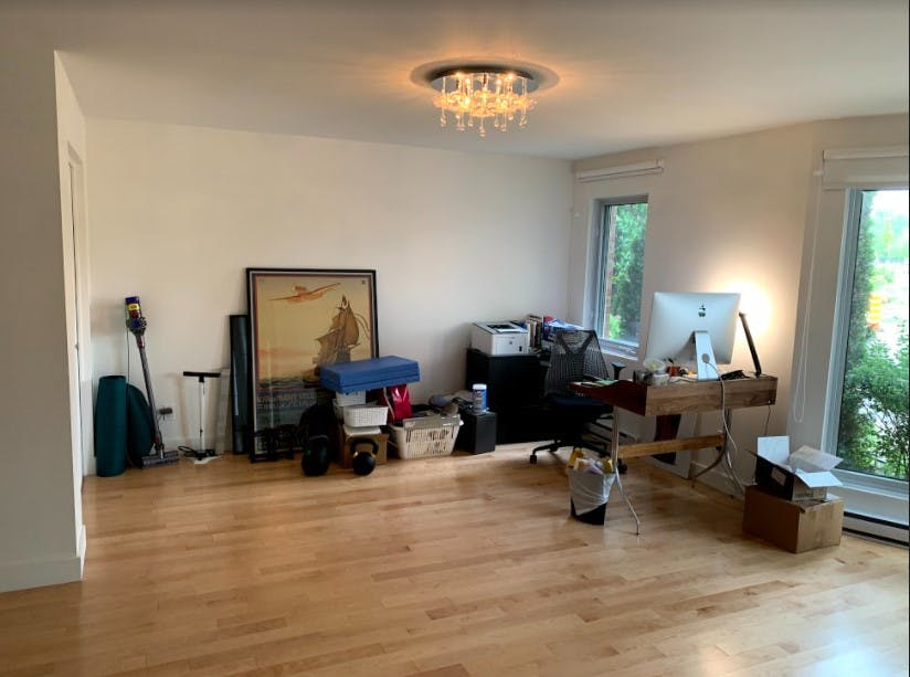 Room before renovation