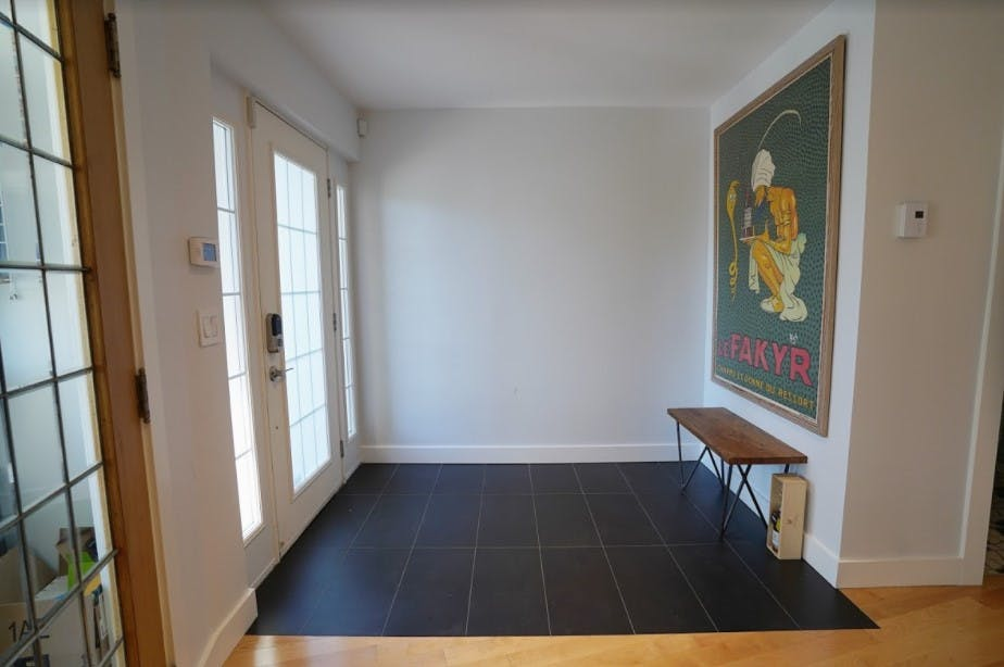 Renovated front hall