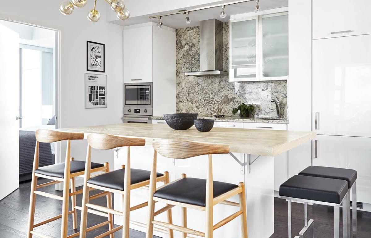 Scandinavian kitchen finishes design
