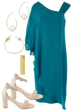 The Teal Dreams outfit