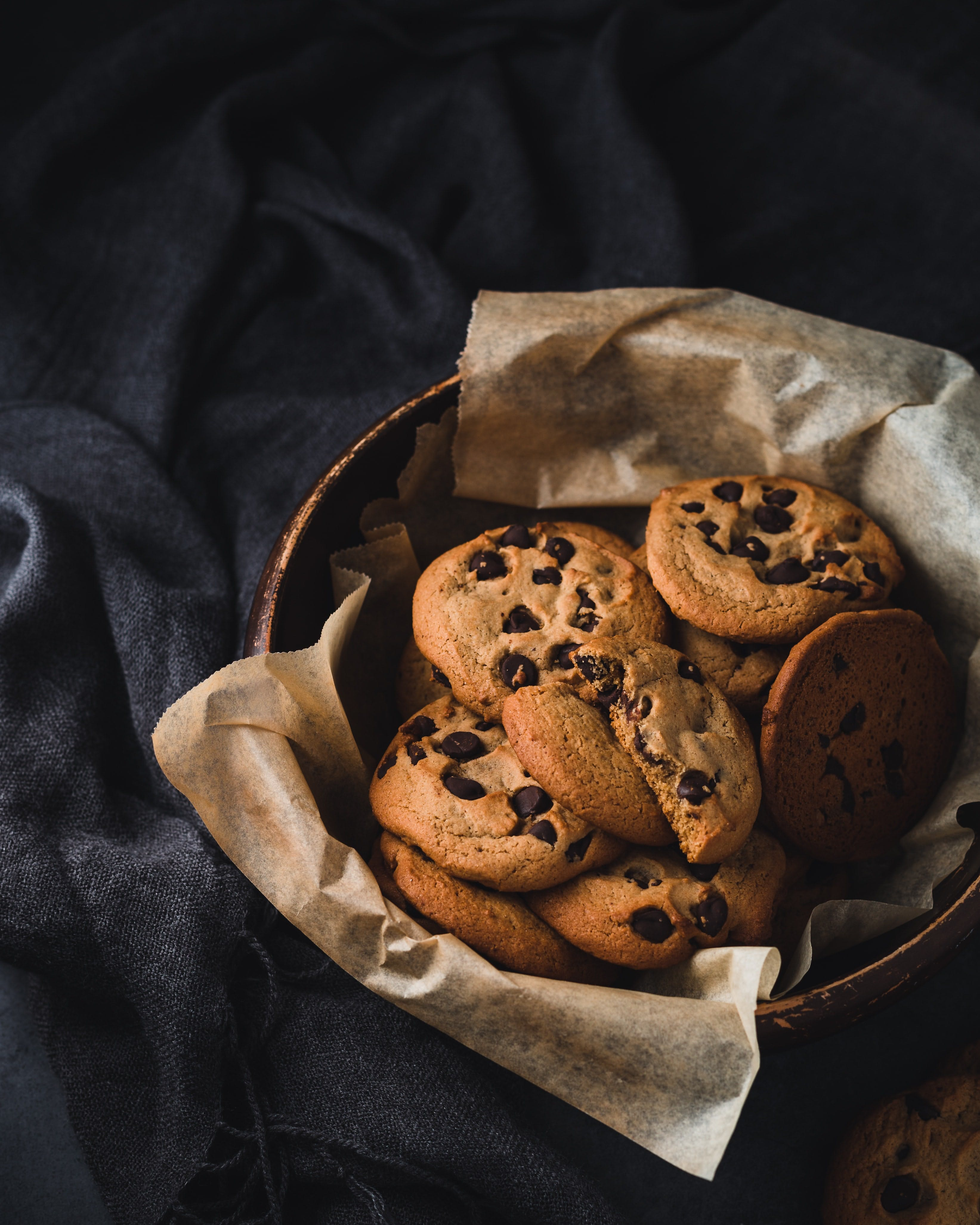 Cookies in a bowl