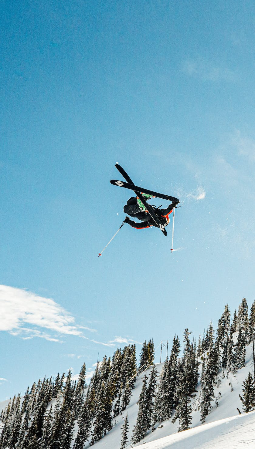 Get Up To Get Down: Parkin Costain Rips Powder in Jackson Hole