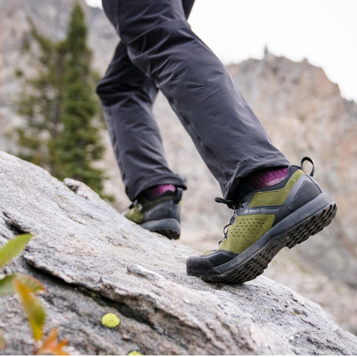 The new Black Diamond Mission XP Leather Approach Shoe.