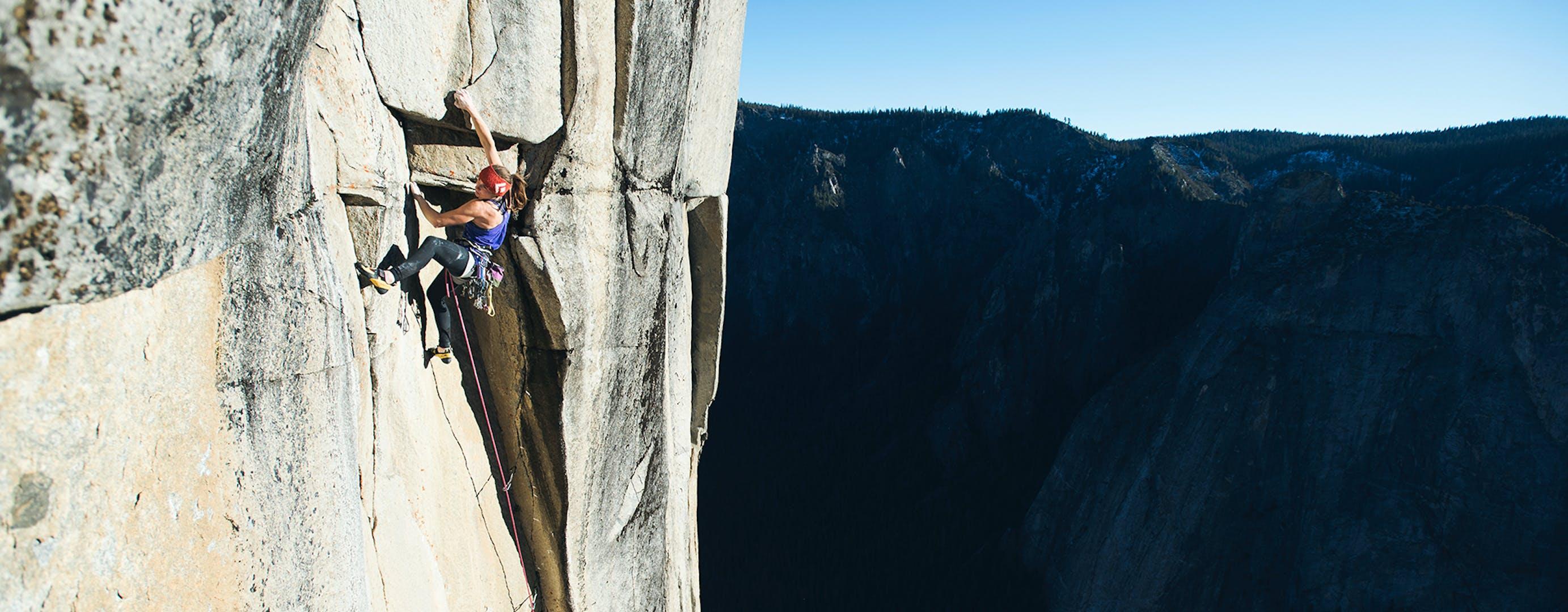 Babsi Climbing