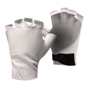 White Crack Gloves