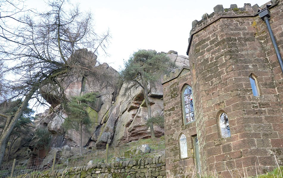 Castles and gritstone